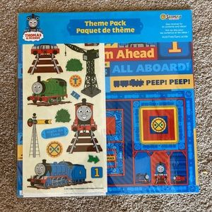 5/25 Thomas and Friends scrapbooking pack